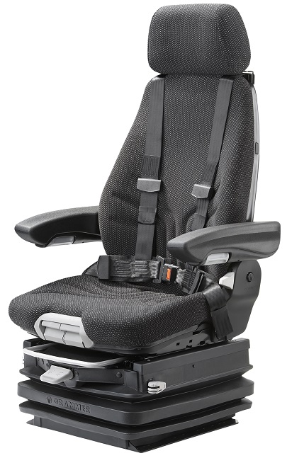 Crane control seats