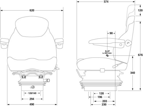 KAB-15E6-SEAT