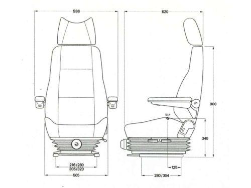 KAB-414-seat