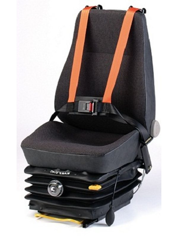 Grammer Crane Seats : Crane control seats with harness drivers