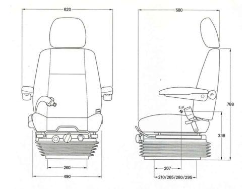 KAB-811-seat