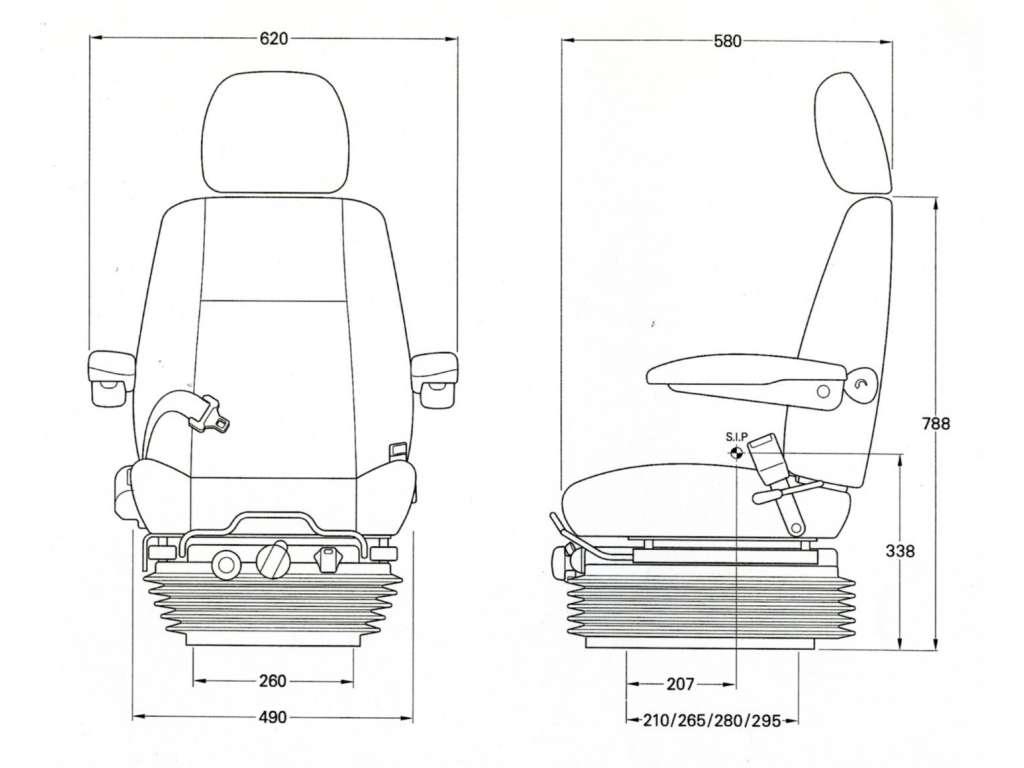 heavy truck suspension diagram