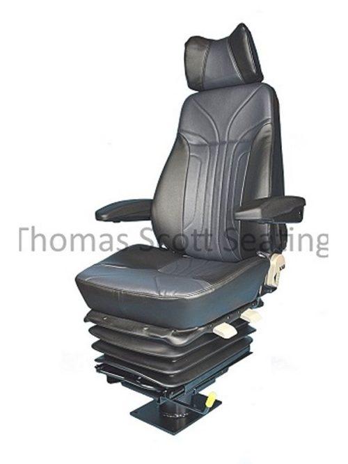 Crane cab seat T4