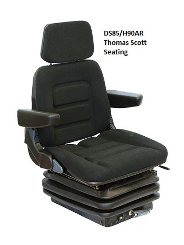 Tractor Seat Two : Grammer ds h tractor seat £ vat special