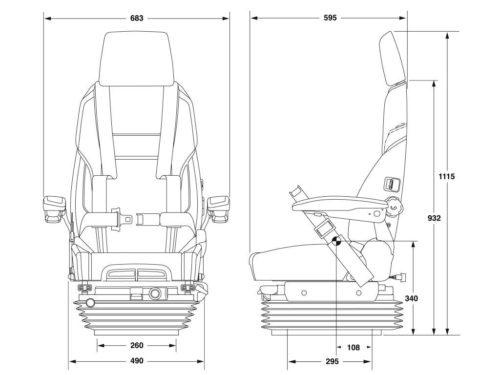 Caterpillar-seat-KAB-86-K4C