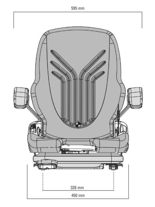 GRAMMER-MSG65-522-PRIMO-XXM-FORKLIFT-SEAT-drawing-front