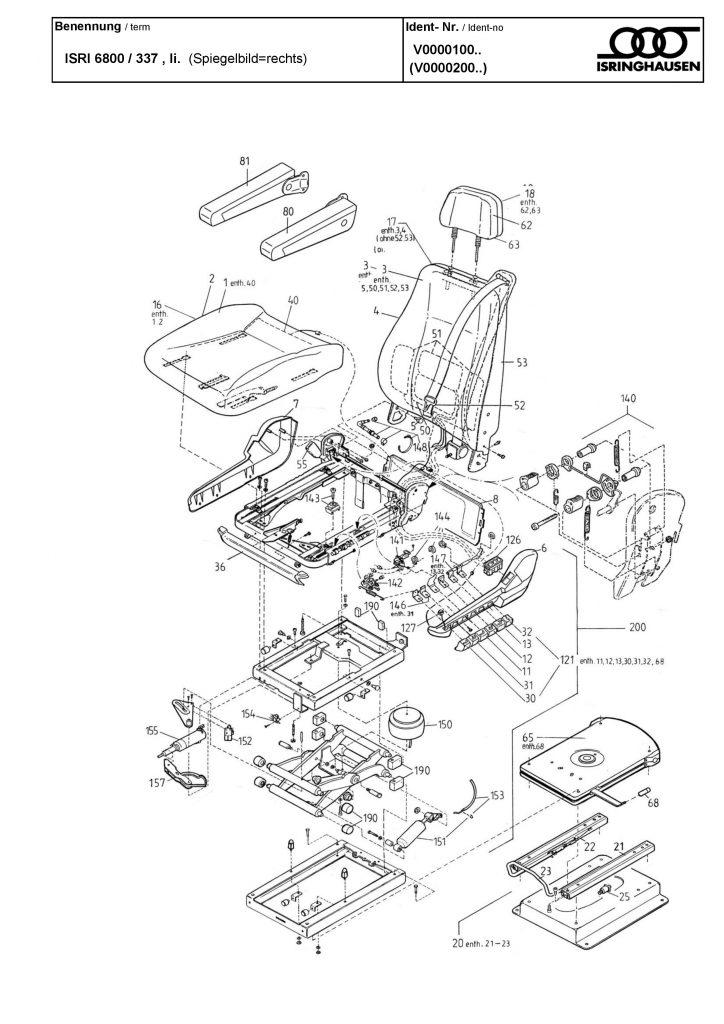 isri air valve seat 1330806 - air dump