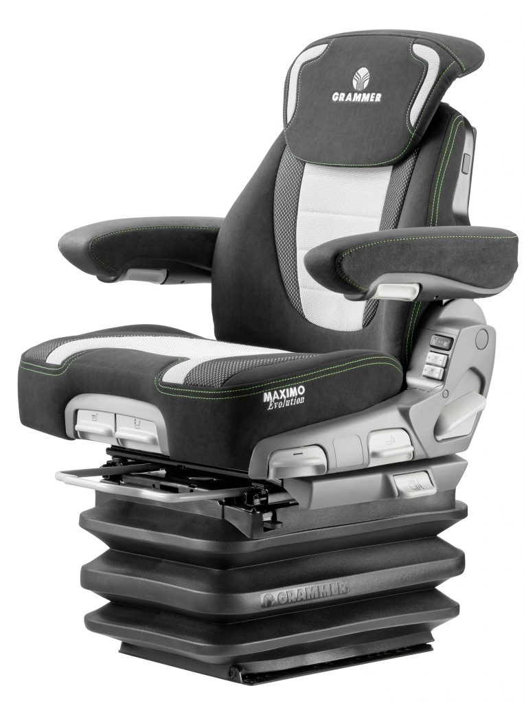 Grammer Crane Seats : Grammer maximo evolution dynamic seat great prices and