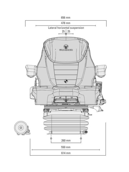 Grammer-Maximo-evolution-air-seat-drawing-front