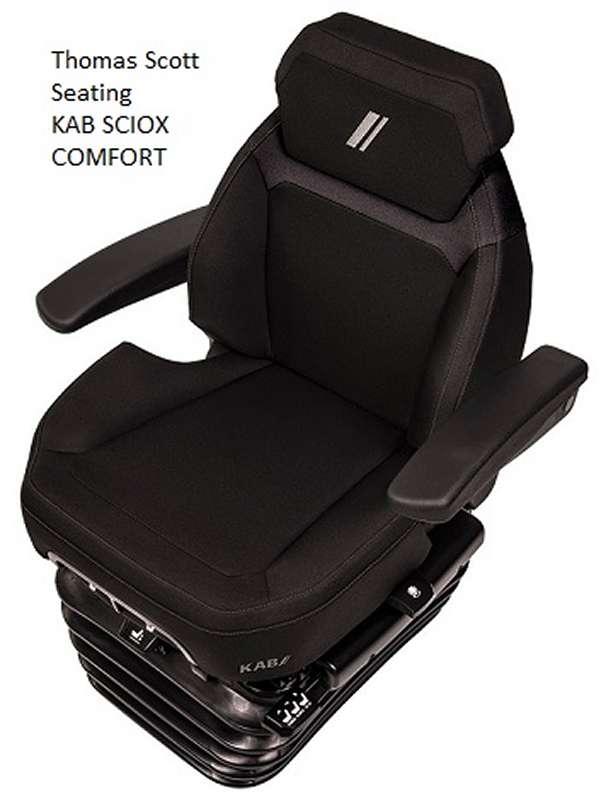 Widest Seat Tractors : Kab sciox comfort seat for tractors main dealer