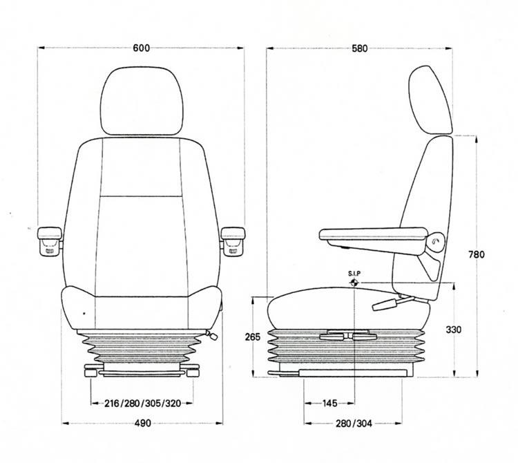 KAB 711 SEAT