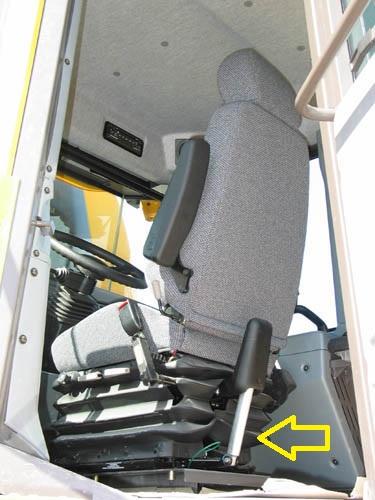 VOLVO dumptruck seat damper